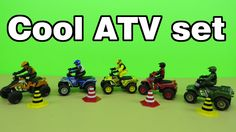 "Presenting a cool ATV toy set for children. An ""ATV"" is an off road vehicle which is designed to handle a wider variety of terrain than most other vehicles. They are equipped with low pressure tires to absorb the shocks. Another cool video bu Toy Joy You may like : Baymax from Big Hero 6 meets the MiP toy robot http://youtu.be/9OC2gMuPLP8 The MiP toy robot - unboxing review http://youtu.be/kkMLtIZ3bwI Disney Big Hero 6 Baymax the Toy Robot Hero presentation review http://youtu.be/mE8iWvzg1Ww"