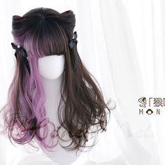 七つの大罪Seven Deadly Sins―<傲慢・Pride> Kawaii Hairstyles, Pretty Hairstyles, Wig Hairstyles, Anime Wigs, Anime Hair, Beautiful Hair Color, Cool Hair Color, Kawaii Wigs, Lolita Hair