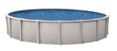 "This is the new Nakoma 54"" High impact synflex resin pool. Trinity wall with ""Hour Glass"" synflex molded high impact resin uprights. Interlocking frame makes this installing this beauty literally a snap. It has a snap together patented frame in which almost anyone can install.  http://www.abovegroundpoolbuilder.com/pool/nakoma/"