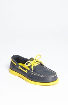 I am totally getting these for Hank. Sperry Top-Sider® 'Authentic Original' Boat Shoe (Walker, Toddler, Little Kid & Big Kid) available at Nordstrom