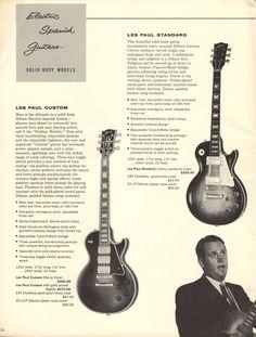 Gorgeous Les Paul guitars