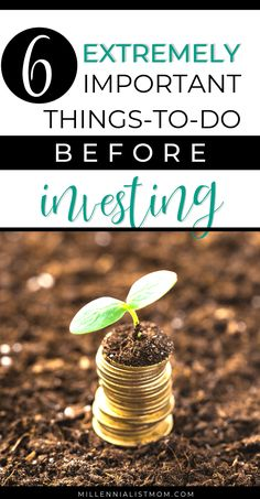 6 Crucial Tasks you Should Do Before Investing - Pretty Passive Investment Tips, Investment Portfolio, Investment Quotes, Funeral Costs, Finance Degree, Household Expenses, Working Mom Tips, Creating Passive Income, Money Saving Mom