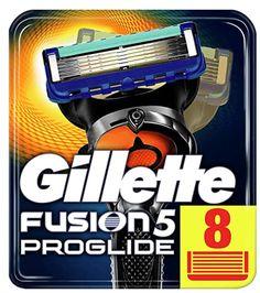 Removable Razor Blades for Men Gillette Fusion 5 ProGlide Blade for Shaving 12 Replaceable Cassettes Shaving Fusion Cartridge – Health & Beauty Gillette Razor, Gillette Fusion, Mens Razors, Best Shave, Power Man, Sideburns, L'oréal Paris, Beauty Shop, Packers