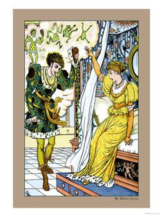 The Frog Prince, The Transformation, c.1900    by Walter Crane Item #: 2886249