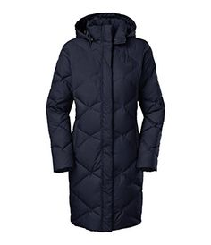 The North Face Women's Miss Metro Down Parka provides all the winter weather protection you need on your urban travels. Quilted 600-fill down insulation warms y...