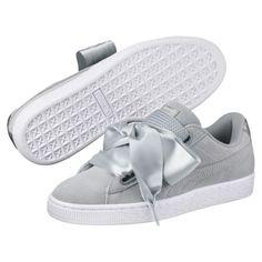 2aa75783834 Zapatos deportivos metalizados Basket Heart para mujer Zapatos Mujer Puma