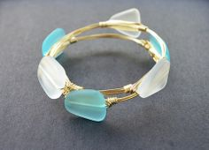 Love, Poppy Sea Glass Bangle – Pretty Pants