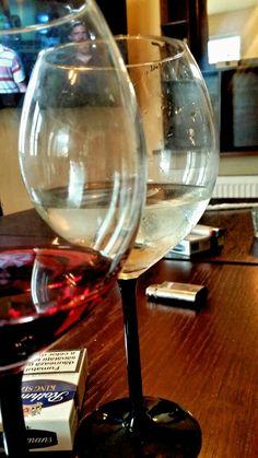 Gru's in Alba Iulia, Alba White Wine, Wine Glass, Alcoholic Drinks, Tableware, Dinnerware, Tablewares, White Wines, Liquor Drinks, Alcoholic Beverages