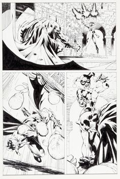 "Jim Lee and Scott Williams Batman #613 ""Hush Chapter Six: The 