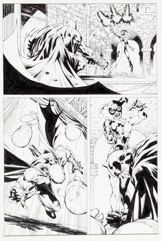 "Jim Lee and Scott Williams Batman #613 ""Hush Chapter Six: The   Lot #92155   Heritage Auctions"