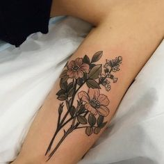 Nature Inspired Neo-Traditional Tattoos by Sophia Baughan
