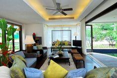Bali Villa: Living Room