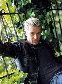 """Going old school today. James Marsters """"Spike"""" miss me some Buffy."""
