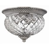 Make Sure Fancy Bulb for Pretty Reflections on Walls in Hallways...Found it at Wayfair - Plantation 2 Light Flush Mount