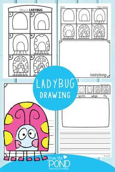 Drawing For Kids, Art For Kids, Kindergarten Art Lessons, Spring Art Projects, Directed Drawing, Art School, School Stuff, School Ideas, Elementary Art