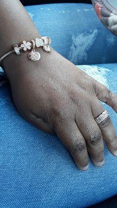 Pandora Charms Rose Gold, Charmed, Diamond, Bracelets, Jewelry, Jewlery, Bijoux, Jewerly, Diamonds