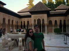 #LaFelicidadEsViajar con @Aranabcn a #Granada @Vueling Airlines