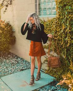 """11.3k Likes, 50 Comments - Hailey Marie (@dreaming_outloud) on Instagram: """"lovin' sweaters & skirts  my new favorite outfit-of-the-week that i styled from @vicidolls is…"""""""