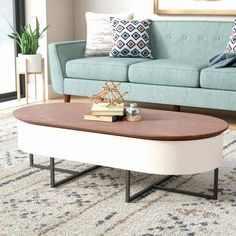 Wayfair Living Room Accent Tables New 9 Wayfair Lift top Coffee Table Inspiration Lift Up Coffee Table, Coffee Table Images, Oval Coffee Tables, Outdoor Coffee Tables, Coffee Table Design, Wayfair Living Room Furniture, Lounge Furniture, Modern Furniture, Japanese Coffee Table