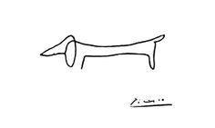 Daschund - Picasso.