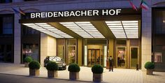 Not just a great hotel but also a meeting point for lunch, afternoon tea and dinner. Cocktails in the bar are great too. Breidenbacher Hof in Düsseldorf - Capella Bar & Brasserie 1806 - The Hotel is run by Capella Hotels & Resorts