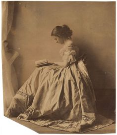 Photograph by Lady Clementina Hawarden, one of Britains earliest female photographers in the mid 1800's.