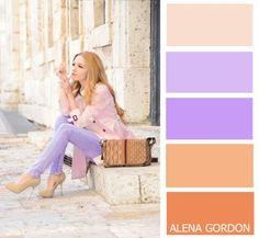 Весна — источник вдохновения для новых образов: 39 гармоничных цветовых палитр…