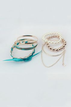 Sweet Bangle Bracelets - OASAP.com