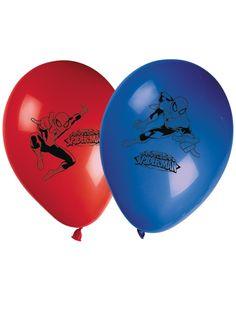 8 Palloncini colorati Spiderman 2 su VegaooParty, negozio di articoli per feste. Scopri il maggior catalogo di addobbi e decorazioni per feste del web,  sempre al miglior prezzo!