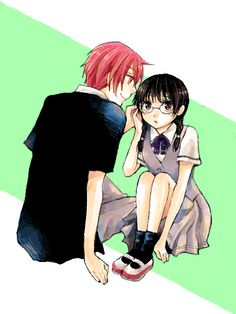 """""""Akabane Karma"""" """"Okuda Manami"""" THIS SHIP CANNOT JUST SAIL. IT MUST FLY.< Yes it must"""