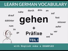 487 Best German grammar images in 2019 | German grammar, Languages