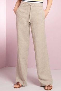 Fashion Trends for Women Over 50 - Fashion Trends Kaki Pants, Skirt Pants, Pants Outfit, Shorts, Trousers Women, Pants For Women, Cute Summer Outfits, Linen Pants, Dress Codes