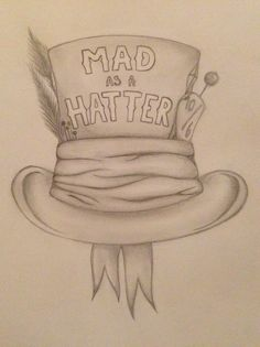 dibujo sombrerero