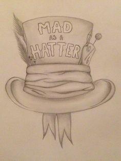 Mad hatter alice in wonderland mad as a hatter More