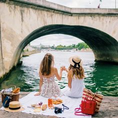 Bastille Day along the Seine with @margoandme, Paris -- Gal Meets Glam