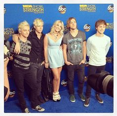 Photos: R5 At The 2014 MDA Show Of Strength Telethon