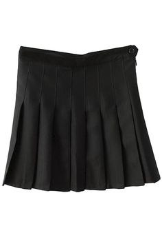 separation shoes 47ee1 0ea20 Sweet Solid Pleated Mini Skirt   victoriaswing