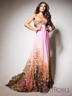 Patterned Formal Dress