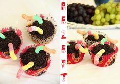 Regenwurm-Kompost Cupcakes mit Oreo Cookies                                                                                                                                                     Mehr