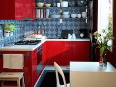 Passionable kitchen from #Ikea