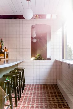 Cervo's: 15 Design Ideas to Steal from a Tiny Portuguese Wine Bar in Manhattan - Remodelista #restaurantdesign