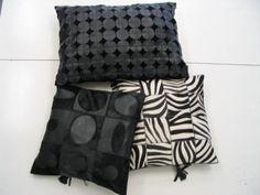 Pillow Mod. vari: pailettes -zebra - Victor  / Cuscini mod. vari: pailettes - zebra - victor