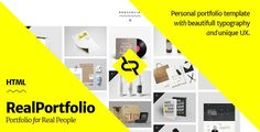 ThemeForest - RealPortfolio - Personal Portfolio Template  Free Download
