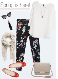 Zara print trousers for spring