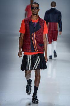 Alexandre Herchcovitch Men Amapô - Sao Paulo Fashion Week Temporada Verano 2015