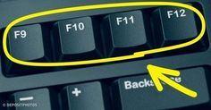 Sai a cosa servono i tasti sulla tastiera del computer? Computer Help, Best Computer, Computer Keyboard, Computer Tips, Phone Hacks, Tips & Tricks, Microsoft Excel, Helpful Hints, Smartphone