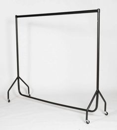 SUPER HEAVY DUTY CLOTHES RAIL 6ft Long x 5ft High Metal Garment Hanging Rack NEW…