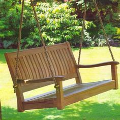 13 Terrific Teak Porch Swings Pic Ideas