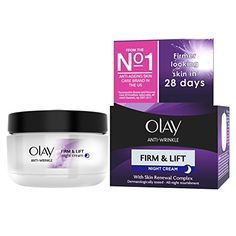 Olay AntiWrinkle Firm and Lift Night Cream for 40 17 Ounce * Click image to review more details.