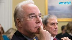 President-elect Donald Trump's choice for health and human services secretary, Rep. Tom Price of Georgia, will be quizzed on his plans to repeal Obamacare and on stock trades that Democrats say raise flags. News Health, Health Care, Donald Trump, Tom Price, Toms, Stock Portfolio, Trump New, Reputation Management, Human Services